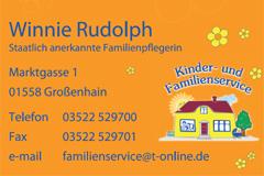 Kinderservice Winnie Rudolph